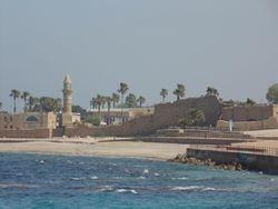 Mediterranean Coast in Caesarea