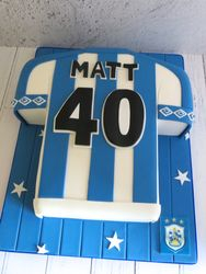 HTAFC Shirt Birthday Cake