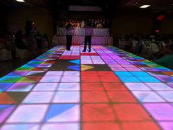 Perfect size led dance floor