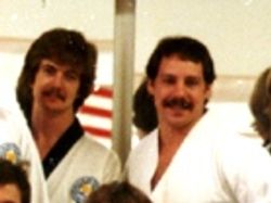 Best Friends... 1980: Master Dave Sorvig (1-4) & Sifu Jeff Goodwin, Sr