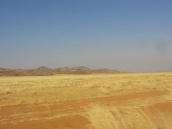 scenery changes as we head out to Puros