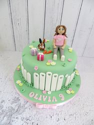 Olivia's 9th Birthday Cake