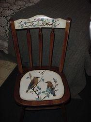 cedar waxwing chair