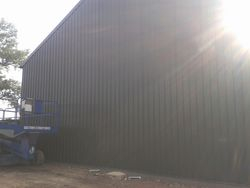 Grain store extention