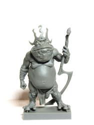 Toad King aradia miniatures