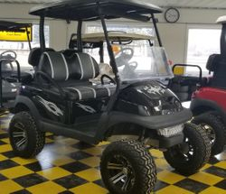 Club Car Precedent Black/White/Gray
