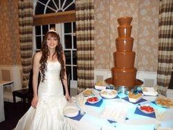 Lincolnshire Chocolate Fountain hire.