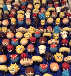 Cartoon Cake Pops
