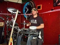 Drummer Dave Davidson!
