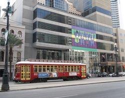 Vondullen #2012 passing the Sheraton New Orleans