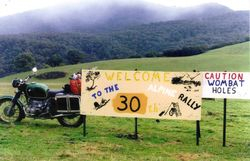 1999 the entrance to Neil Seagrim's property