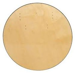 "72"" Round Wooden Table @ $20.00 ea"
