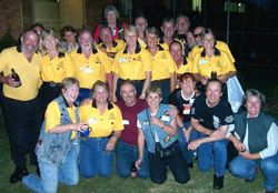 Some of the Northern Gateway Members at Coffs - Oct 2003