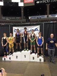 Devan Larkin - 5th place at OFSAA 2016