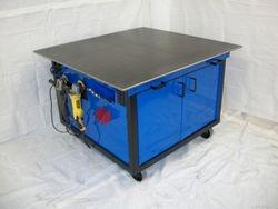 M & K Fab welding bench