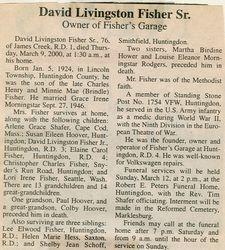 Fisher, David Livingston Sr. 2000