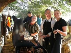 The Cooks at the Anzac Day BBQ Breakfast