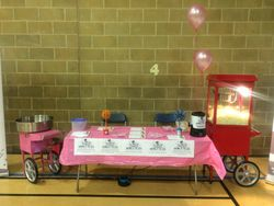 Fundraising for 'Race For Life'
