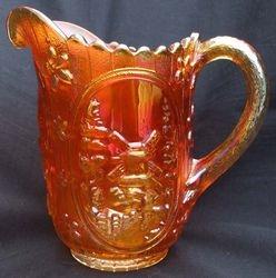 Windmill milk jug, marigold