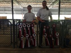 Kids with Ribbons at the AGPA Show in Little Rock