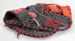 2005 ALBERT PUJOLS (1ST MVP SEASON) PLAYOFFS GAME USED & SIGNED FIRST BASEMAN'S GLOVE