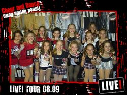 Dance Champions at LIVE!