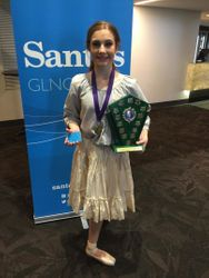 Kiara of Theatre Arts Mackay Dance Excellence