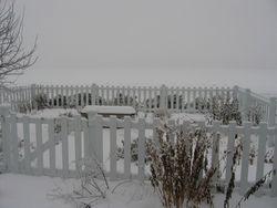 Trumansburg-Herb Garden in Winter