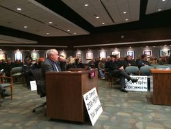 Dave Banwarth, HoCo, Dayton resident Testifying