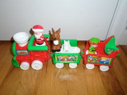 Fisher Price Little People Musical Christmas Train - $20