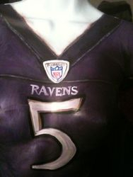 Raven's Flacco Jersey