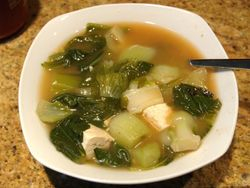 CHINES VEGETABLE SOUP