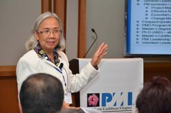 Victoria Kumar, PMP presented at the 2013 PMI SCC PDD