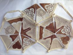 Gorgeous gold/bronze shot silk with vintage lace