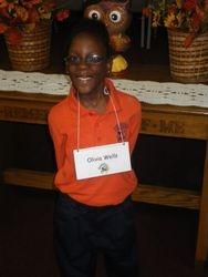 our Top Speller --- Olivia