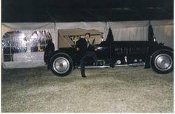 Bugatti Royale at Tony Muschamp's wedding