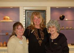 Marsha Judd, Laura Wambsgans and Carolyn Gravatte