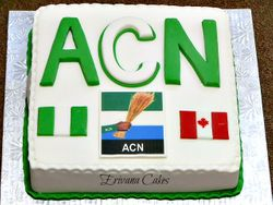 Corporate Event - ACN Logo cake