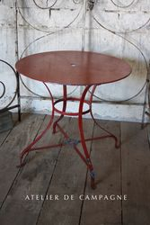SOLD #27/017 FRENCH GARDEN TABLE SOLD