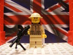 British Desert Commando with Bren