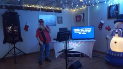 Santa Sings!!