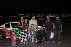 Thunder Car Feature Winner