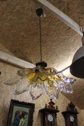 Murano stiklo vintazinis sviestuvas. Kaina 157