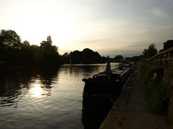 Hampton Court Sunset