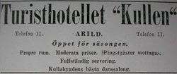 Turisthotellet Kullen 1931