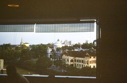255 View from Cathay Hotel Singapore 1960