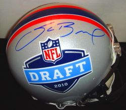 SAM BRADFORD SIGNED 2010 DRAFT PROLINE HELMET