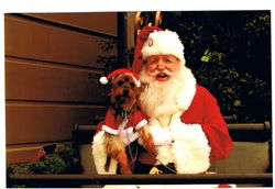 Santa and Rocky The Littlest Reindeer