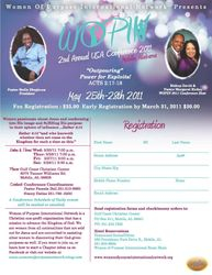 USA Conference flyer