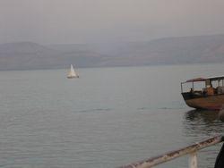 Navegacion en el mar de Galilea